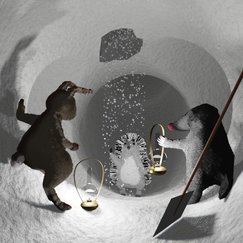 Ах эта снежная зима. Сказки на ночь Сергея Горбунова