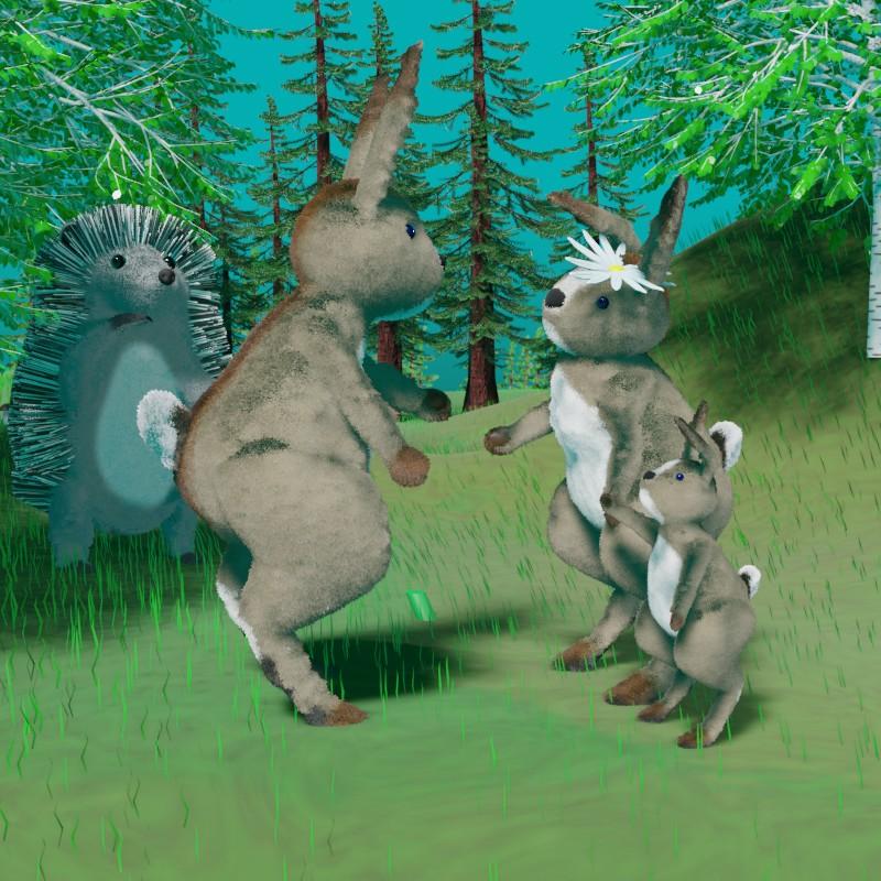 Как заяц женился