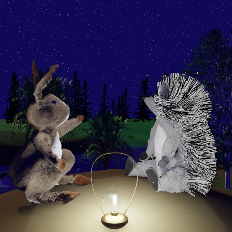 Небо, звёзды и морковка. Сказки на ночь Сергея Горбунова