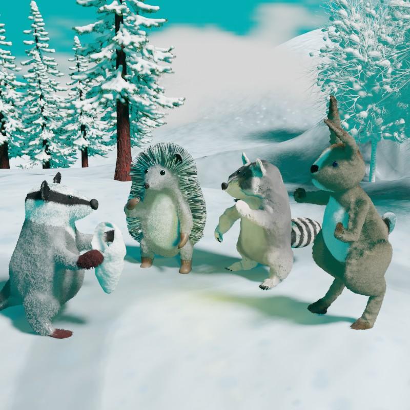 Настоящий Дед Мороз. Сказка на ночь